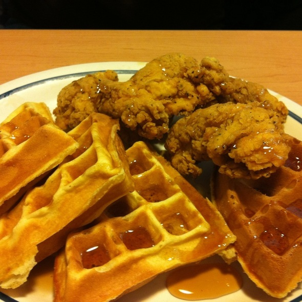Chicken & Waffles @ Ihop
