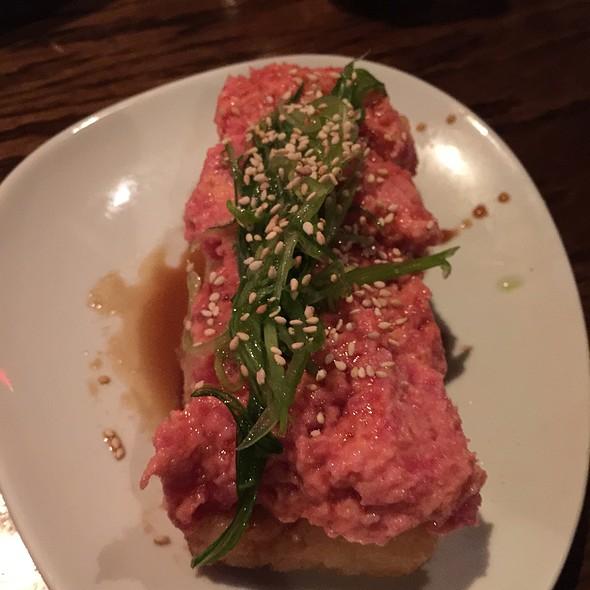 Spicy Tuna Volcano @ Gyu Kaku Houston