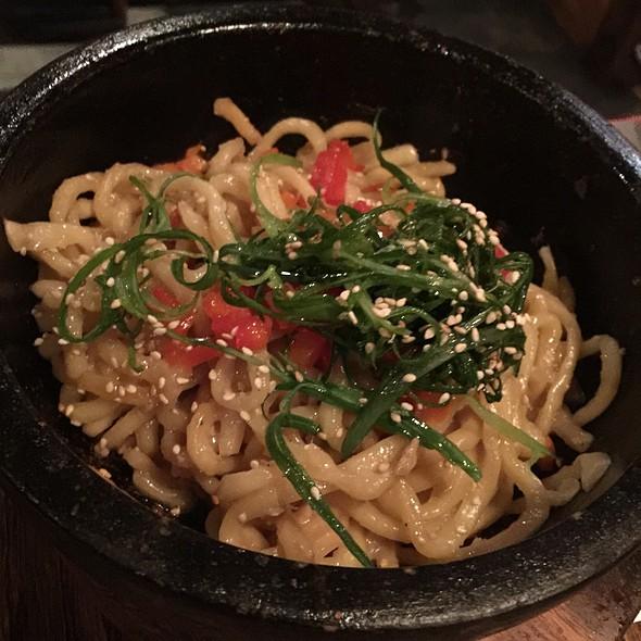 Garlic Noodles @ Gyu Kaku Houston