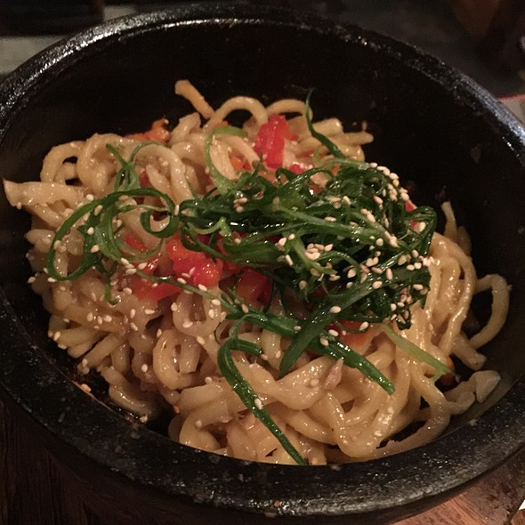 Garlic Noodles @ Gyu Kaku Houston