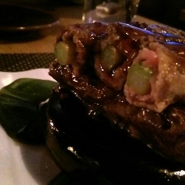 Rib Eye Wrapped Asparagus  @ Sushi Roku