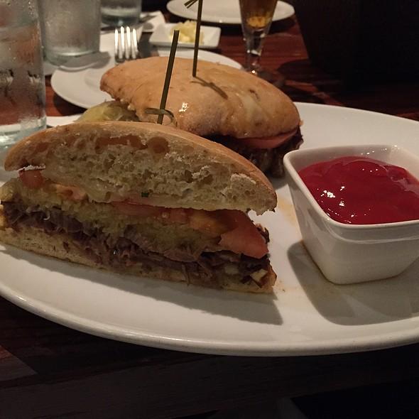 Wagyu Beef Brisket Sandwich