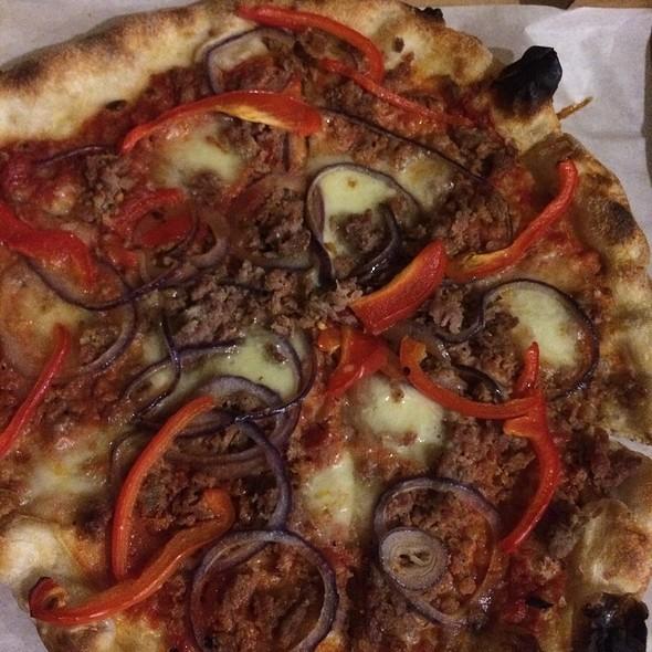 Salciccia Pizza @ Pizzeria Delfina