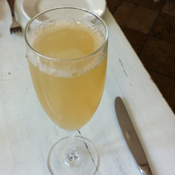 Grapefruit Mimosa - Taboon, New York, NY