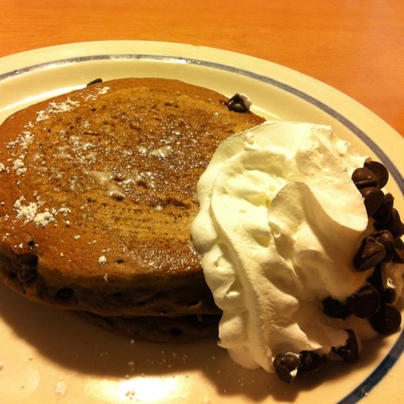 Chocolate Chip Pancakes @ Ihop