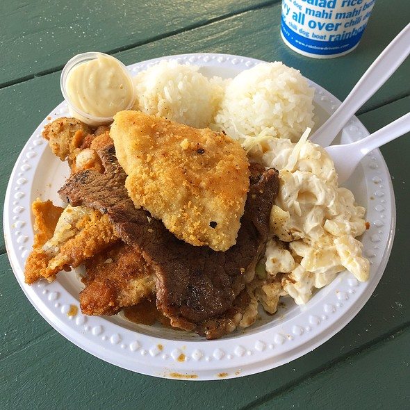 Mix Plate @ Rainbow Drive-In