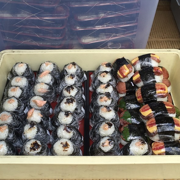 Assorted Musubis @ Musubi Cafe Iyasume