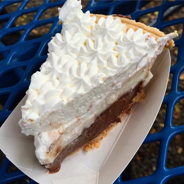 Chocolate Haupia Cream Pie @ Ted's Bakery