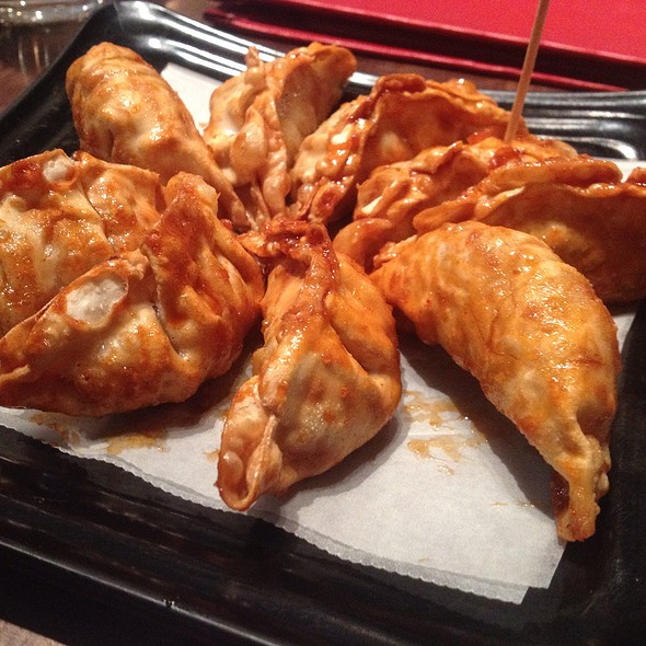 Hot Spicy Garlic Potstickers