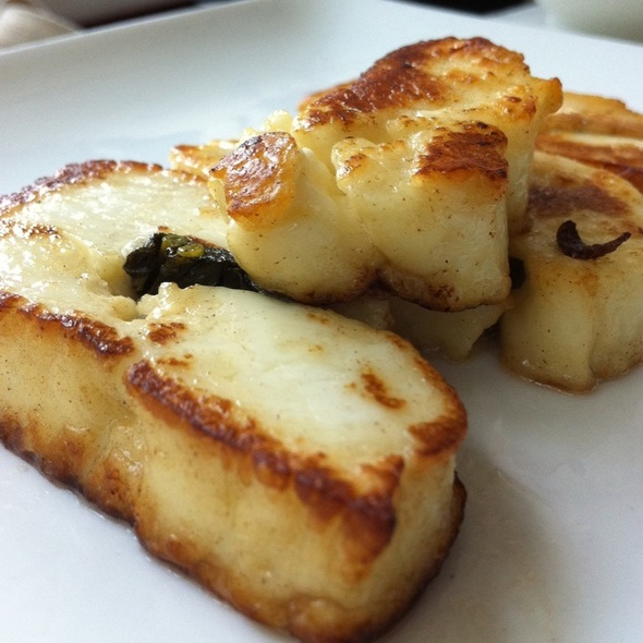 Grilled Halloumi - Taboon, New York, NY