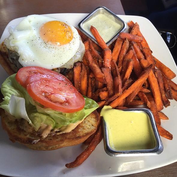 Lamb Burger @ Root Down