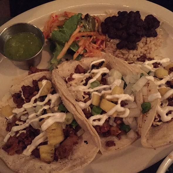 Stewed Seitan Tacos @ GROUND CONTROL!