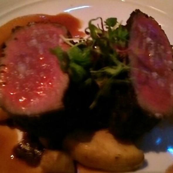 Herb Crusted Venison  @ Eiffel Tower Restaurant