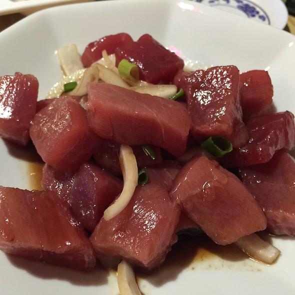 Shoyu Poke @ Kyung's Seafood