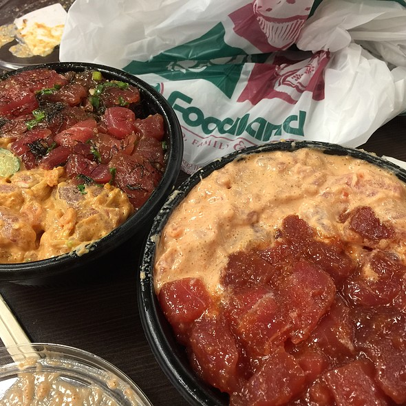 Ahi Poke Bowl @ Foodland Super Market