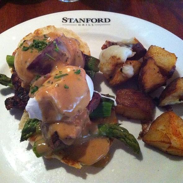 Filet Mignon Eggs Ben - Stanford Grill, Columbia, MD