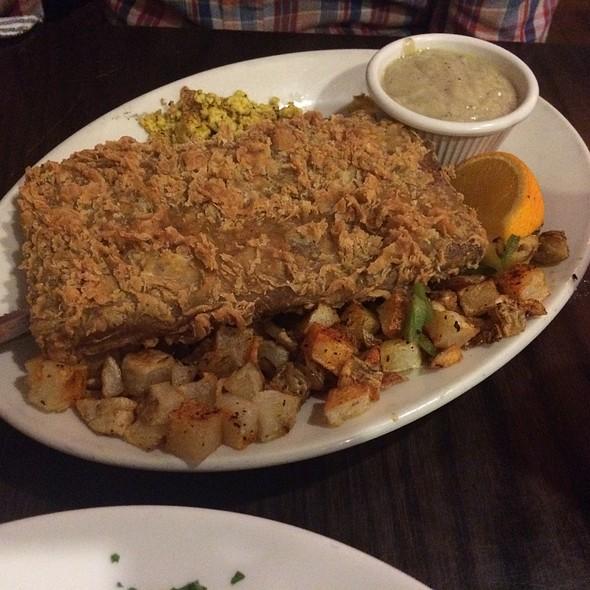 Country Fried Seitan Steak @ Chicago Diner Logan Square