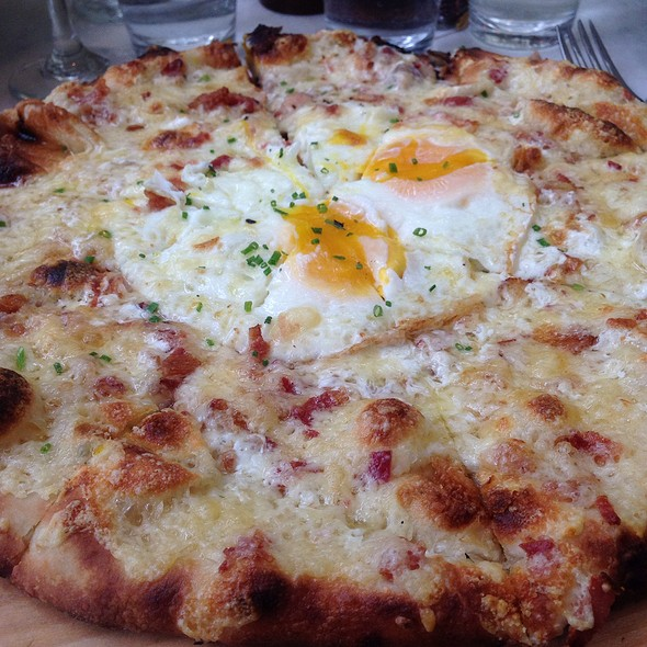Breakfast Pizza - The Park, New York, NY