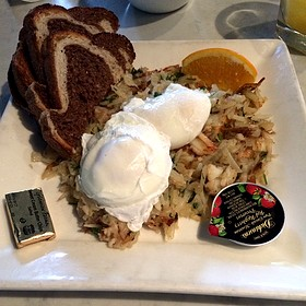Crab Hash - The Knick, Milwaukee, WI