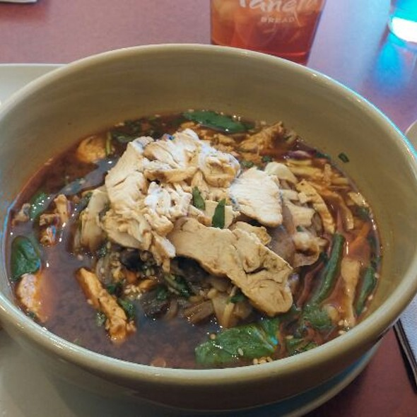 Broth Bowl. Soba Noodles With Chicken @ Panera Bread