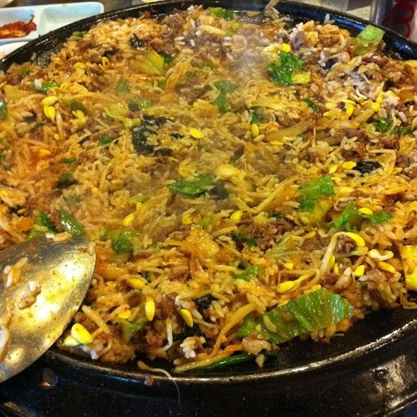 Bulgogi & Kimchi Fried Rice @ Honey Pig 2