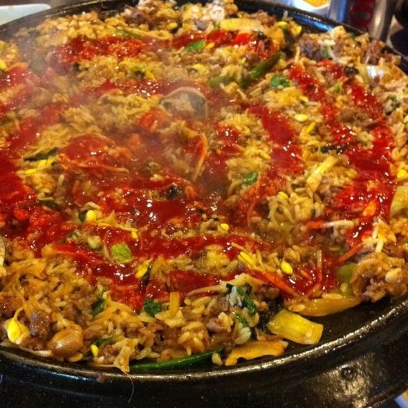 Spicy Bulgogi & Kimchi Fried Rice @ Honey Pig 2