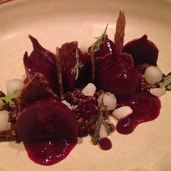 Baby Beets With Truffles