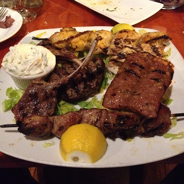 Greek Meat Combo @ 12 Islands Greek Resturant