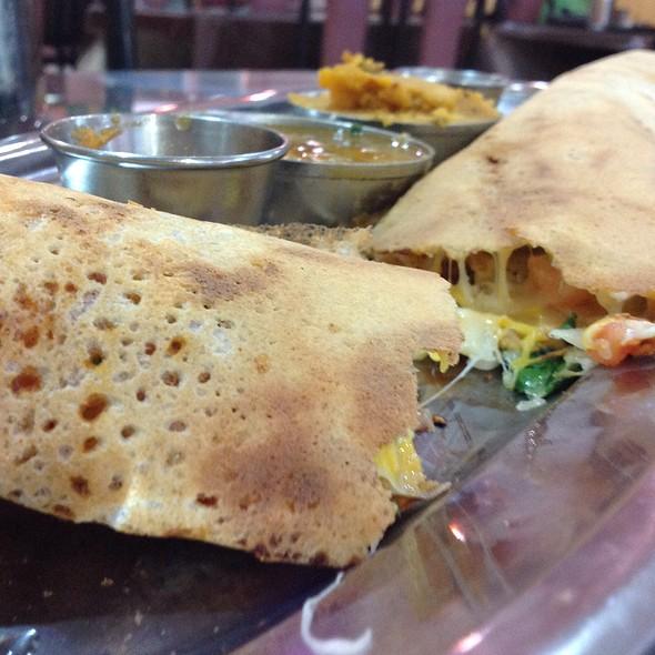 Special Pizza Mysore Masala Dosa @ South Indian Dosa Mahal