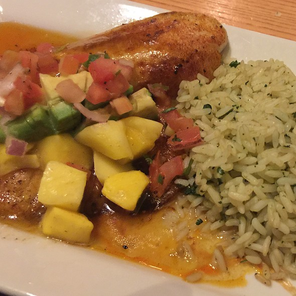 Mango-Chile Tilapia @ Chili's Grill & Bar