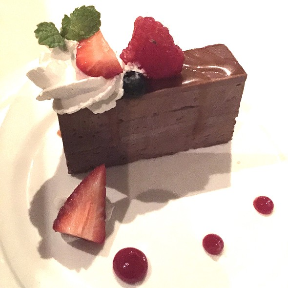 Chocolate Cremeaux Semifreddo - Top of Waikiki - Revolving Restaurant, Honolulu, HI