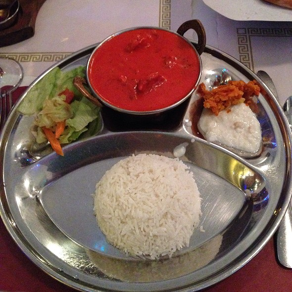 Shrimp Tikka Masala @ Lumbini Restaurant