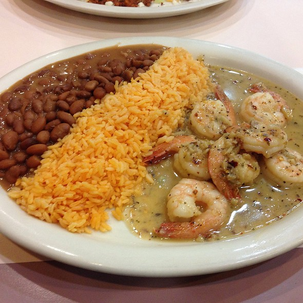 Shrimp Platter @ Los Mariachis