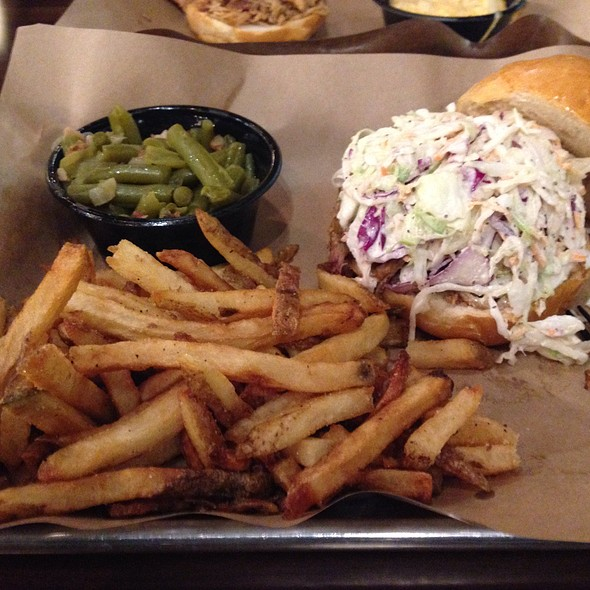 Nc Pulled Pork Sandwich @ Mission BBQ Canton