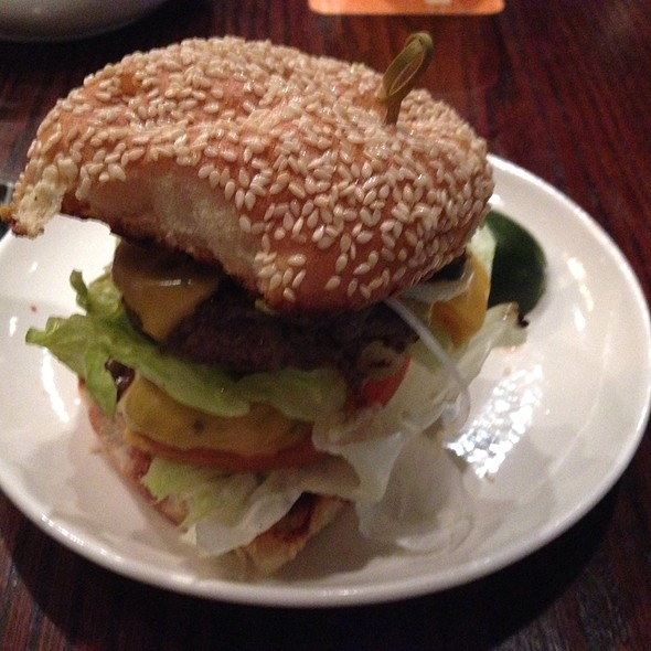 Double Stack Burger @ Family Meal