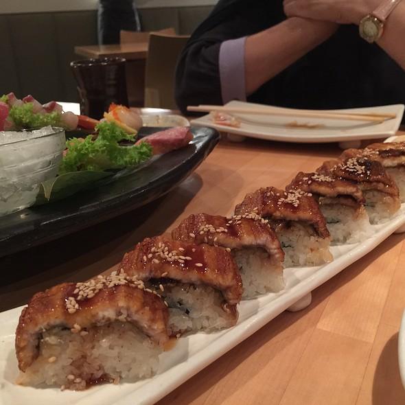 Sea Eel Roll @  Masuya Japanese Seafood Restaurant