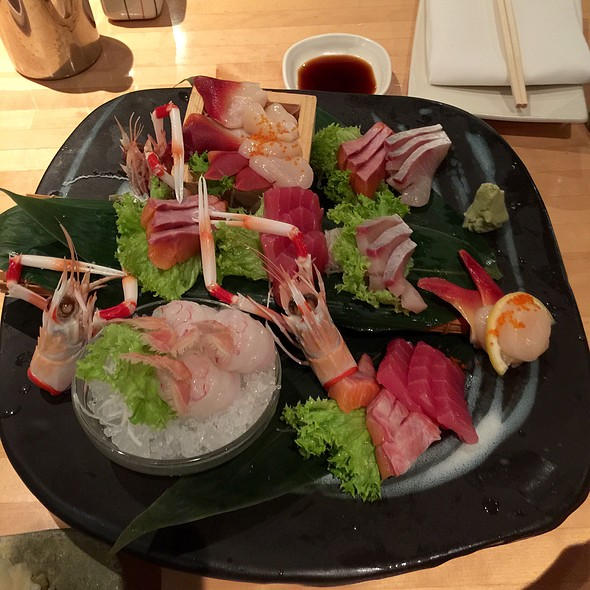 Sashimi Deluxe @  Masuya Japanese Seafood Restaurant