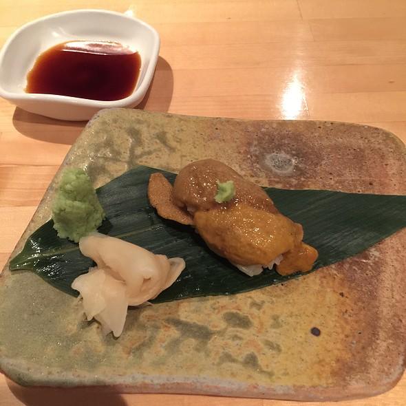 Sea Urchin Nigiri Sushi @  Masuya Japanese Seafood Restaurant