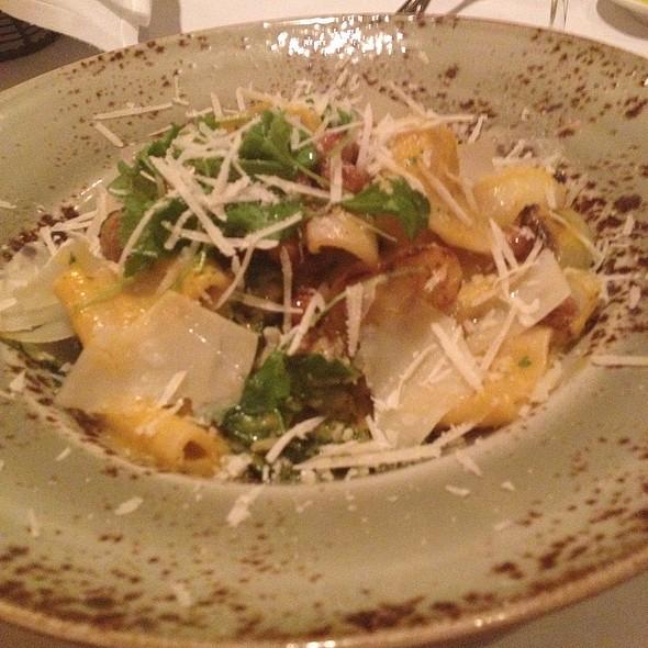 Rigatoni With Fried Chickpeas And Merguez Sausage - Primo, Orlando, FL