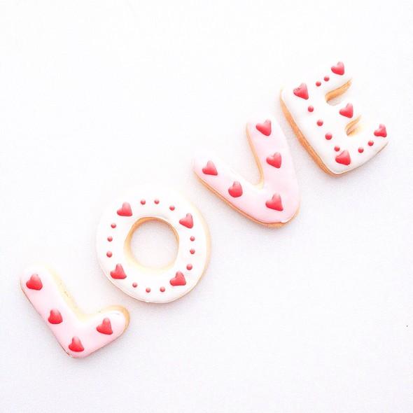 Valentines Cookies @ Fovera Cookies (By Order To +628158228532)