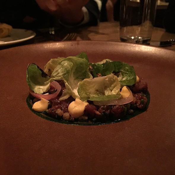 Venison Tartare - L'Abattoir Restaurant, Vancouver, BC