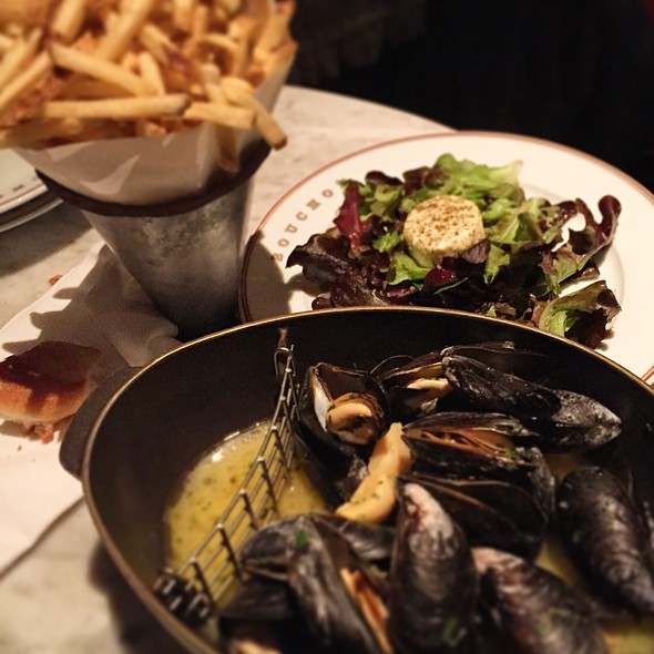 Mussels & Fries @ Bouchon