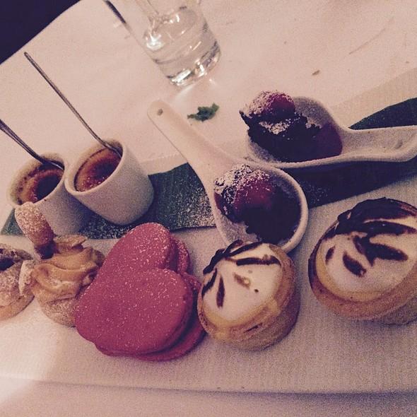 Valentines Dessert Platter @ Claire's Kitchen At Le Salon