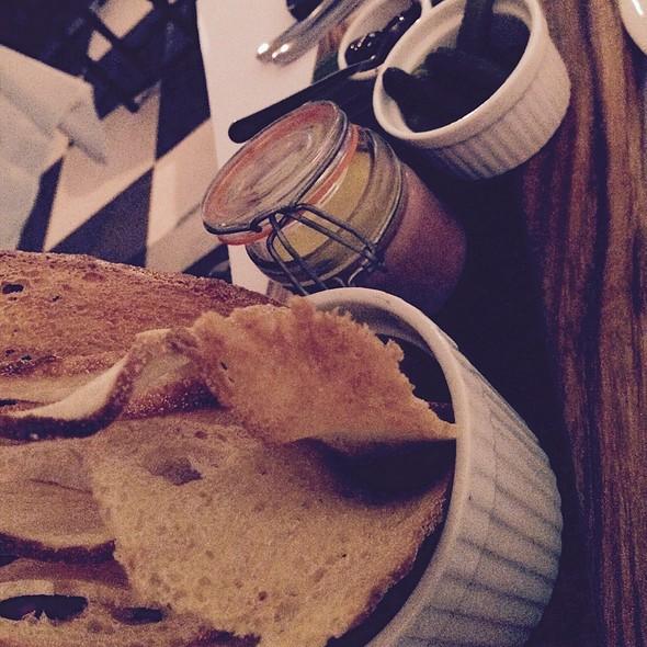 Duck Liver Parfait With Crouton And Grape Chutney @ Claire's Kitchen At Le Salon