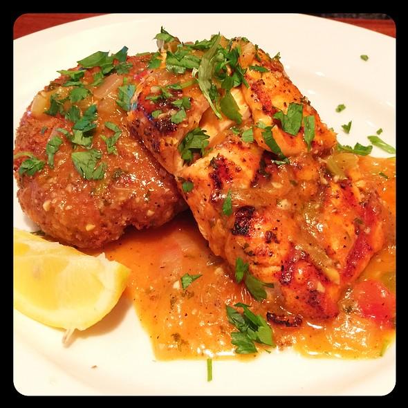Salmon Orleans @ Claim Jumper Restaurant