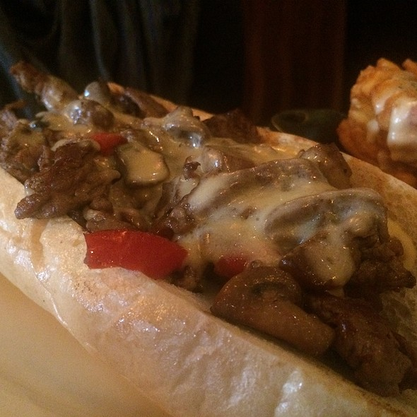 Philly Cheesesteak - Henry's 12th Street Tavern, Portland, OR