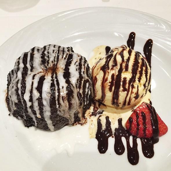 Chocolate Molten Cake - Fogo de Chao Brazilian Steakhouse - Orlando, Orlando, FL