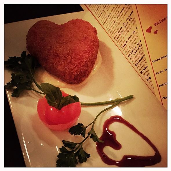Deep Fried Beets Risotto - Tre Otto, New York, NY