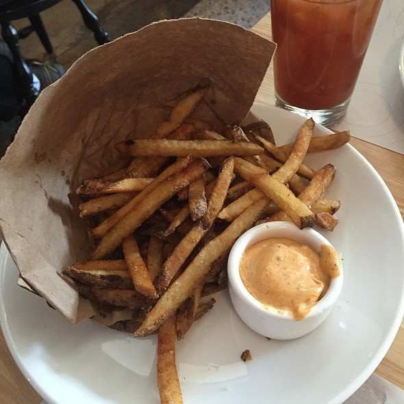 French Fries With Harissa Aioli @ The Third Bird