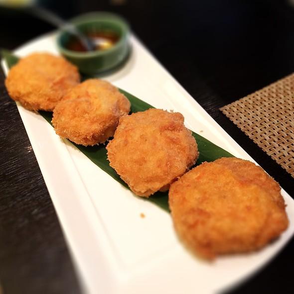 金錢月亮蝦餅 @ 台北喜來登大飯店-SUKHOTHAI